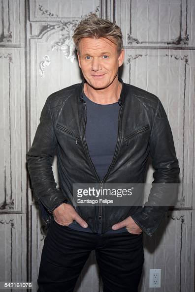 Gordon Ramsay attends AOL Build Presents to discuss 'Gordon Ramsay Dash' at AOL Studios In New York on June 22 2016 in New York City