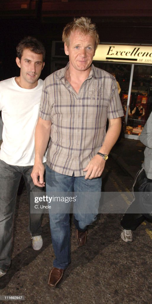 Gordon Ramsay during Celebrity Sightings at the Cuckoo Club - July 26, 2006 in London, Great Britain.