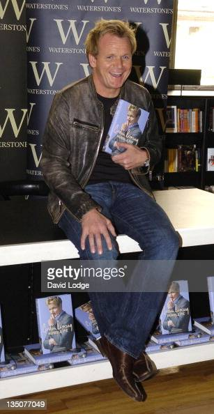 Gordon Ramsay during Gordon Ramsay 'Humble Pie' Book Signing October 4 2006 at Waterstone's Bookstore in London Great Britain