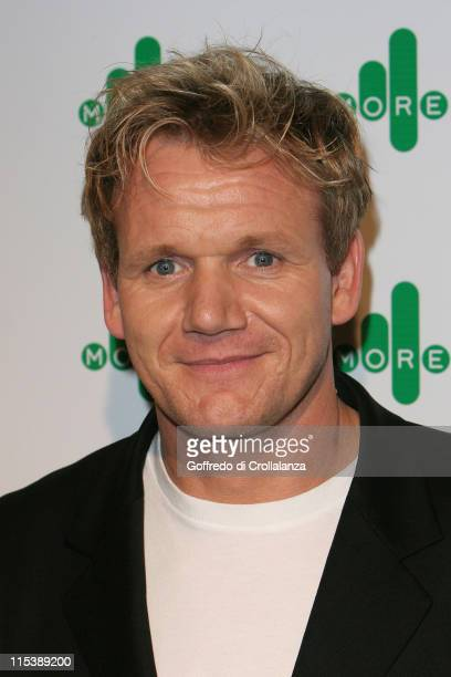 Gordon Ramsay during More 4 Launch Party at The Shunt Vaults 10 Stainer Street in London Great Britain
