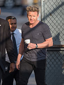 Gordon Ramsay is seen at 'Jimmy Kimmel Live' on March 03 2015 in Los Angeles California