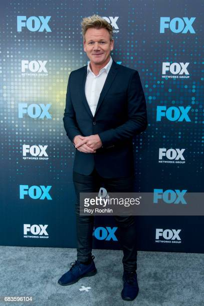 Gordon Ramsey attends the 2017 FOX Upfront at Wollman Rink Central Park on May 15 2017 in New York City