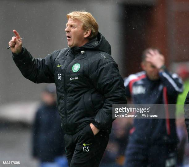 Gordon Strachan Celtic Manager