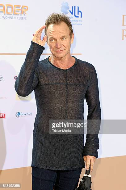 Gordon Sumner singer of Sting attends the Deutscher Radiopreis 2016 on October 6 2016 in Hamburg Germany