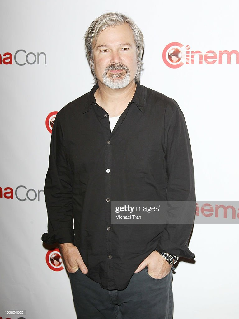 <a gi-track='captionPersonalityLinkClicked' href=/galleries/search?phrase=Gore+Verbinski&family=editorial&specificpeople=538751 ng-click='$event.stopPropagation()'>Gore Verbinski</a> appears at a Walt Disney Studios Motion Pictures presentation to promote the upcoming film 'The Lone Ranger' held at The Colosseum at Caesars Palace during CinemaCon, the official convention of the National Association of Theatre Owners on April 17, 2013 in Las Vegas, Nevada.