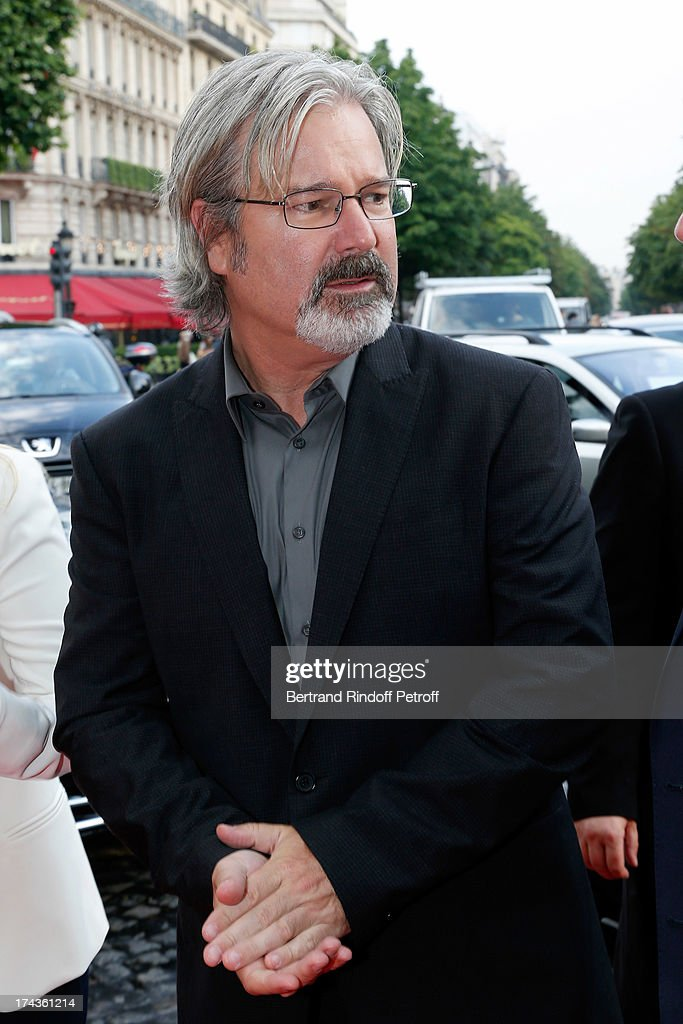 <a gi-track='captionPersonalityLinkClicked' href=/galleries/search?phrase=Gore+Verbinski&family=editorial&specificpeople=538751 ng-click='$event.stopPropagation()'>Gore Verbinski</a> arrives at the Paris Premiere of 'Lone Ranger' at UGC Normandy on July 24, 2013 in Paris, France.