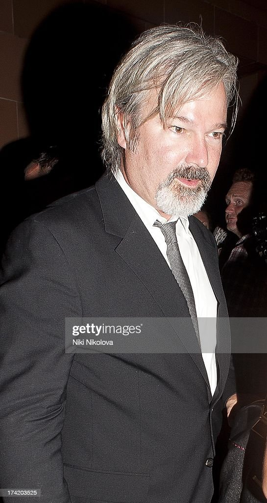 <a gi-track='captionPersonalityLinkClicked' href=/galleries/search?phrase=Gore+Verbinski&family=editorial&specificpeople=538751 ng-click='$event.stopPropagation()'>Gore Verbinski</a> leaving the C Restaurant on July 21, 2013 in London, England.