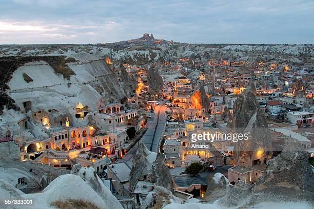 Goreme at Dusk, Cappadocia