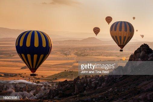 Goreme Flying : Stock Photo