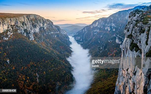 Gorge of Verdon, France