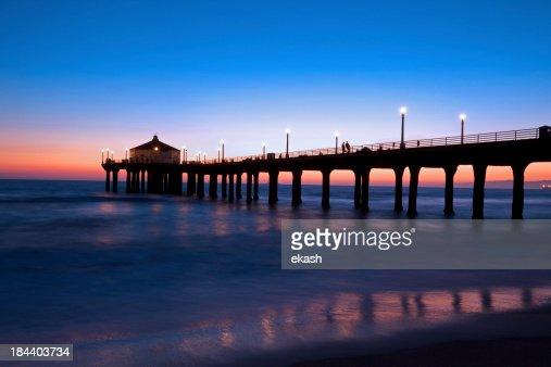 Gorgeous Nightfall in Manhattan Beach