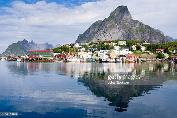 Gorgeous reflection of Lofoten