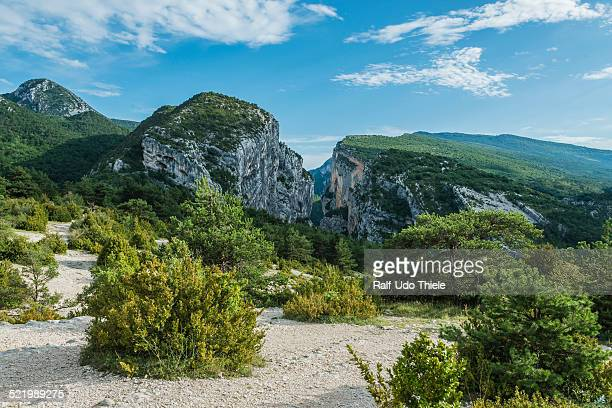 Gorges du Verdon in the Verdon National Park, Department Alpes-de-Haute-Provence, Provence-Alpes-Cote d'Azur, France