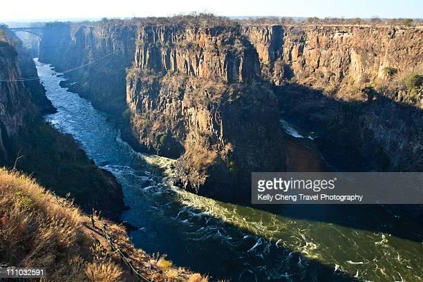 Gorges of Zambezi River