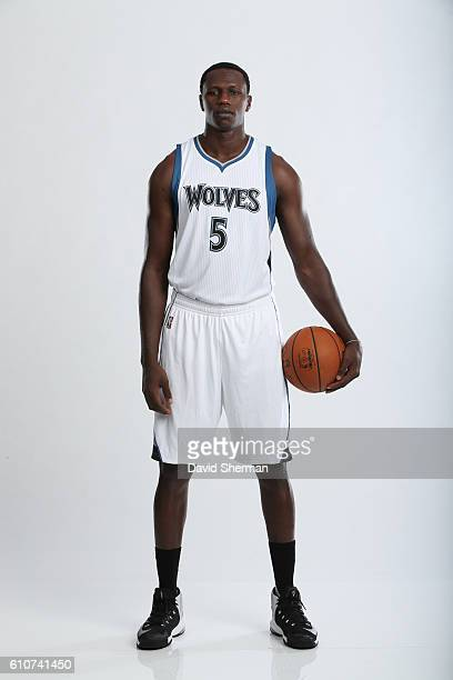 Gorgui Dieng of the Minnesota Timberwolves poses for a portrait during the 2016 2017 Minnesota Timberwolves Media Day on September 26 2016 at Target...