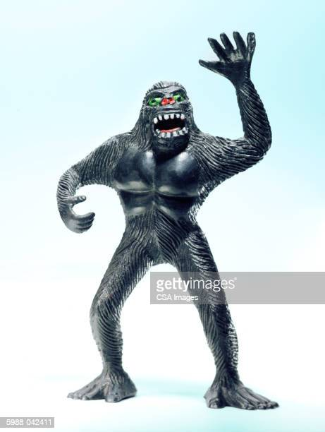 Angry gorilla stock photos and pictures getty images - Gorilla figurines ...