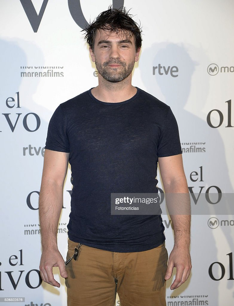 Gorka Lasaosa attends the premiere of 'El Olivo' at the Capitol cinema on May 4, 2016 in Madrid, Spain.