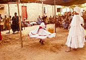 Goro-Vodou, Vodou initiates during the dance