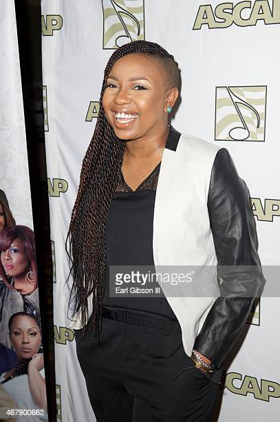 Gospel Recording Artist Casey J attends the ASCAP eOne Present 'Morning Glory Breakfast' Honoring Stellar Award Nominees at The Orleans Hotel Casino...