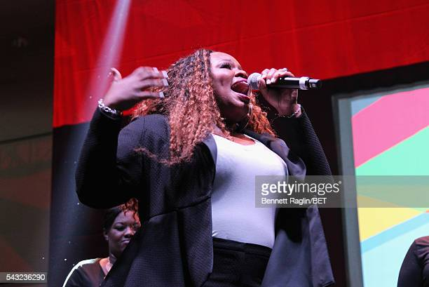 Image result for Tasha Cobbs BET AWARDS getty image