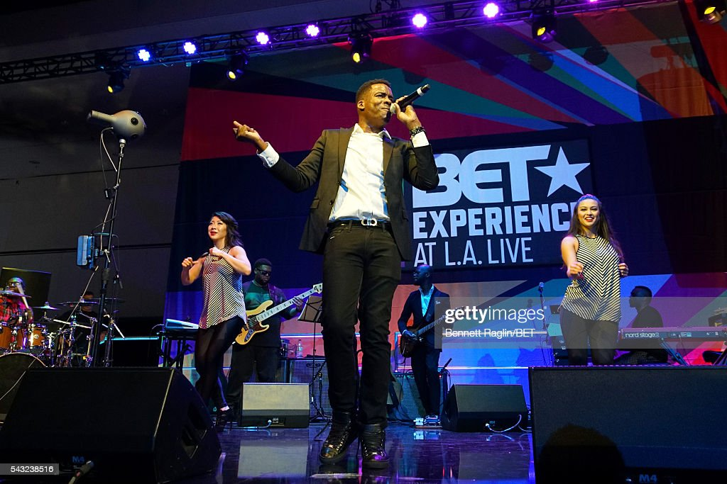Gospel singer Tim Bowman Jr. performs on the BETX stage during the 2016 BET Experience on June 26, 2016 in Los Angeles, California.