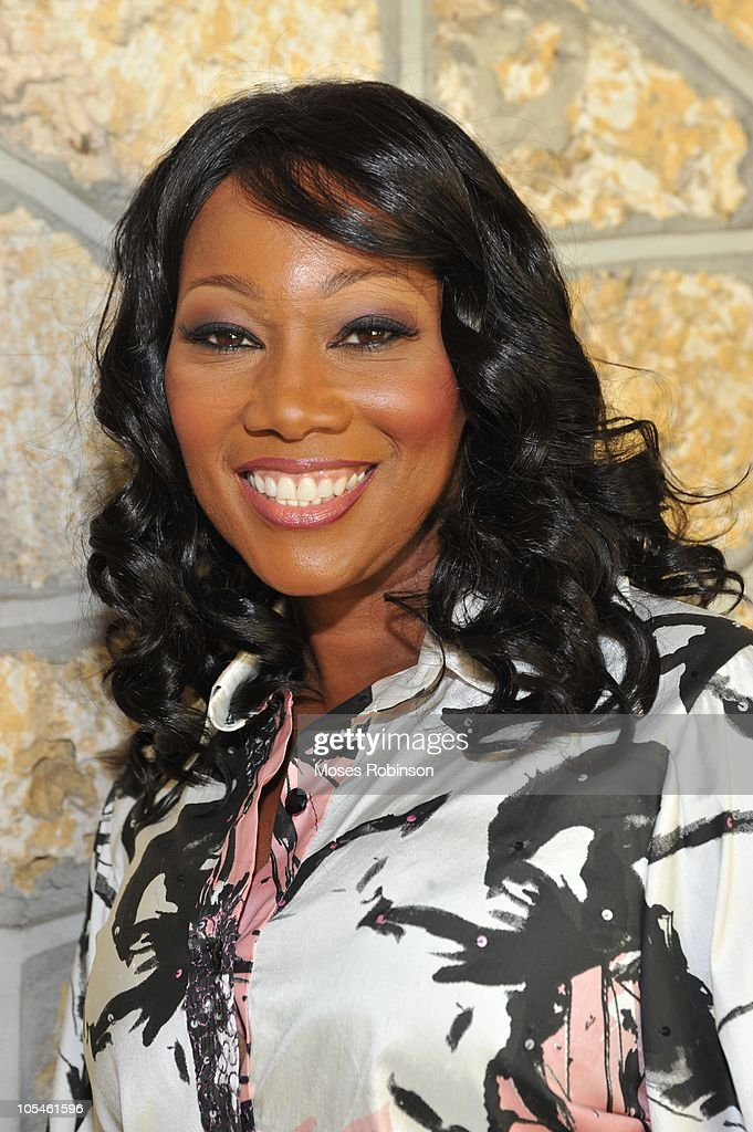 Gospel singer Yolanda Adams attends Alem Gola and Oscar Joyner Wedding Ceremony on October 9, 2010 in Miami, Florida.
