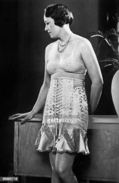 Gossard underwear bra and girdle England 1930