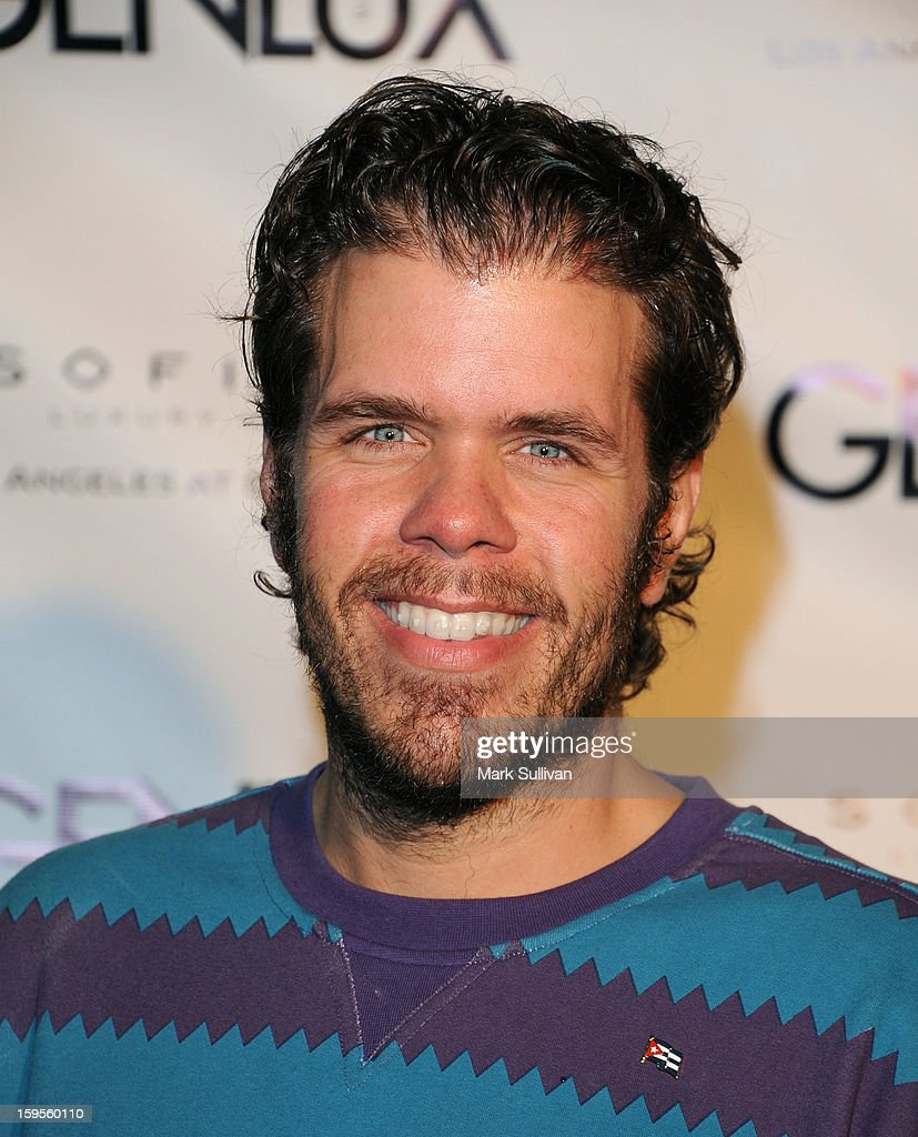 Gossip blogger <a gi-track='captionPersonalityLinkClicked' href=/galleries/search?phrase=Perez+Hilton&family=editorial&specificpeople=598309 ng-click='$event.stopPropagation()'>Perez Hilton</a> arrives for the opening of Riviera 31 At Sofitel Los Angeles on January 15, 2013 in Los Angeles, California.