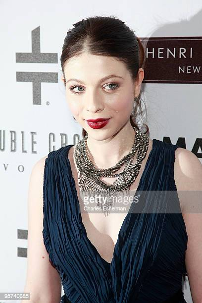 'Gossip Girl' actress Michelle Trachtenberg attends the 'You Know You Want It' publication celebration at Henri Bendel on January 12 2010 in New York...