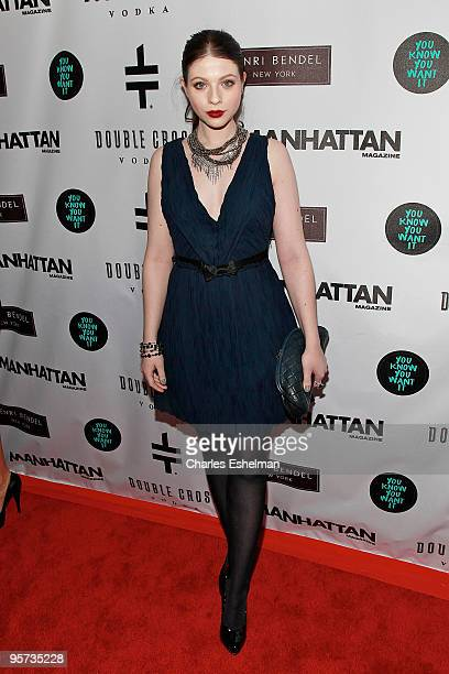 'Gossip Girls' actress Michelle Trachtenberg attends the 'You Know You Want It' publication celebration at Henri Bendel on January 12 2010 in New...