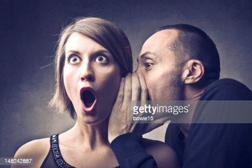 Gossip : Stock Photo