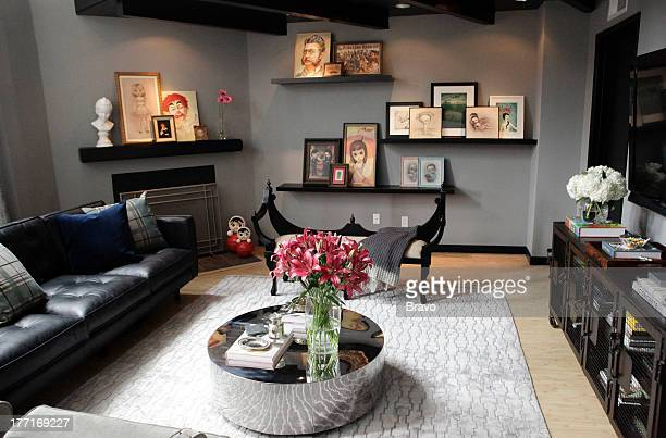 LEWIS 'Goth No More' Episode 207 Pictured Living room after renovation