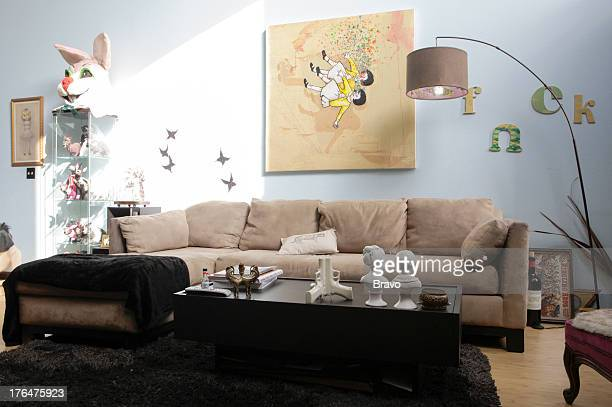 LEWIS 'Goth No More' Episode 207 Pictured Living room before renovation
