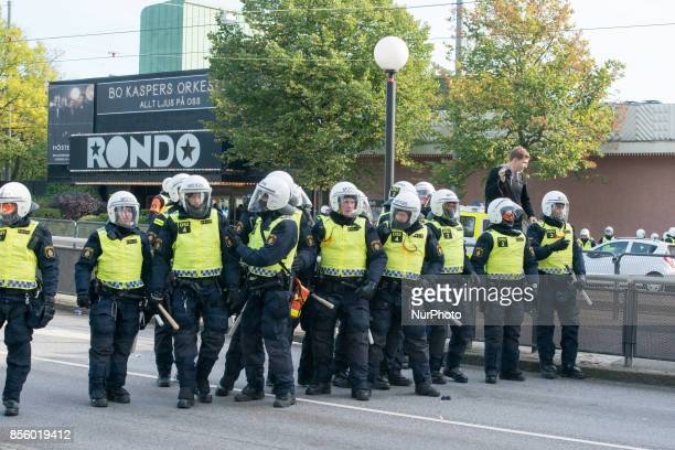 Gothenburg mounted a massive police operation to secure the city as members of the Nordic Resistance Front tried to march through the city center and...