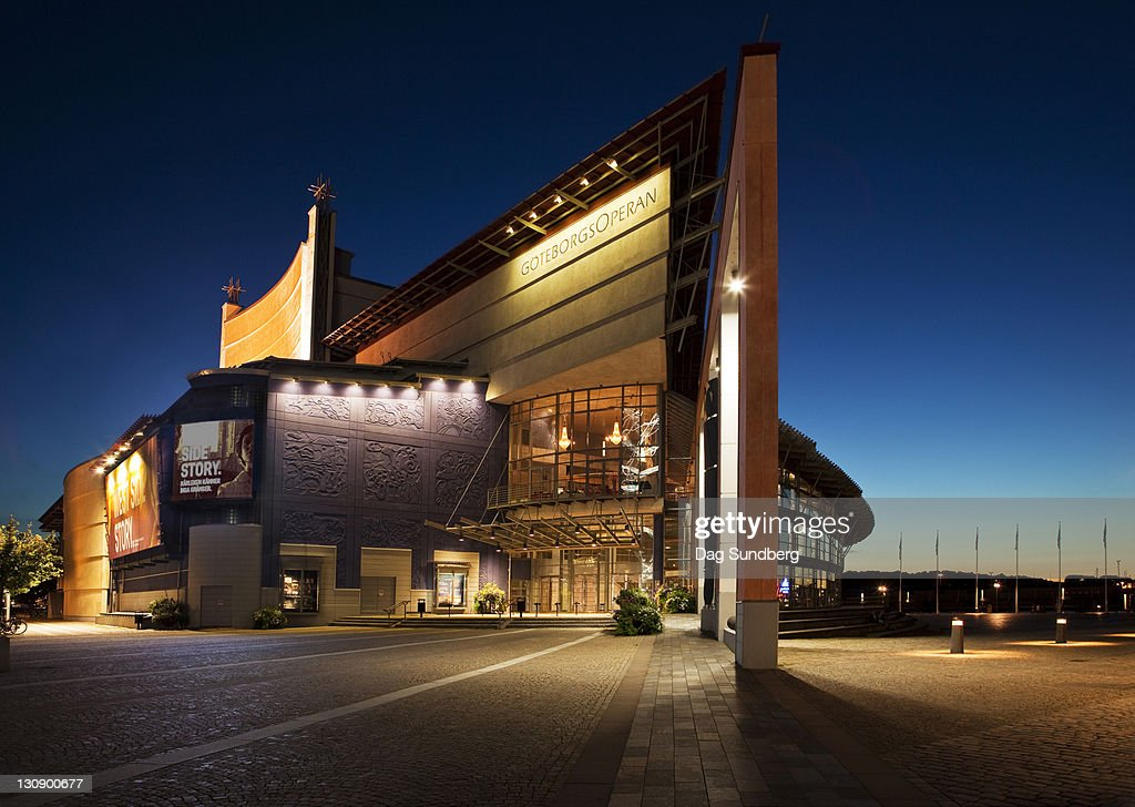 Gothenburg Opera house : Stock Photo