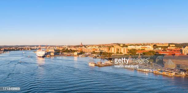Göteborg, Blick auf die Stadt-Brücke