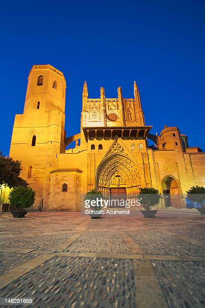 Gothic architecture in Huesca City.