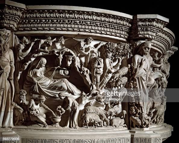 The nativity by pisano pictures getty images