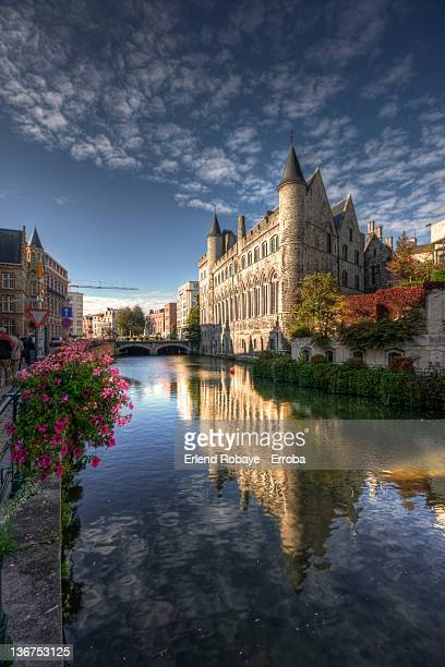 Gothic Castle in Ghent
