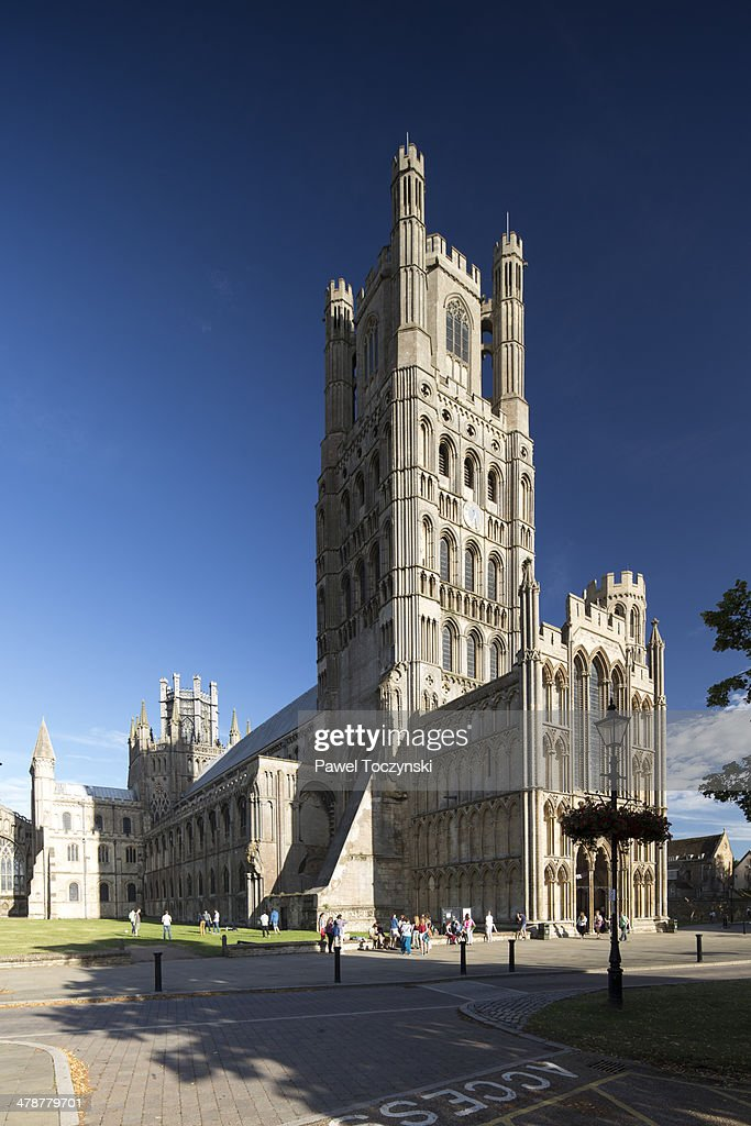Gothic cathedal in Ely, Cambridgeshire