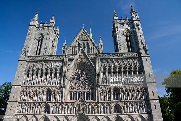 Gothic cathedral of Trondheim