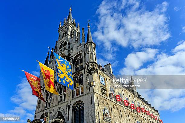 gothic City Hall, Gouda, Netherlands