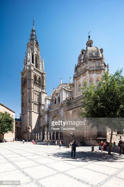 Gothic-style Cathedral of Toledo
