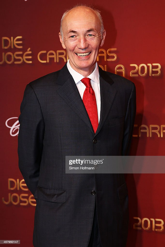 Gottfried Zmeck attends the 19th Annual Jose Carreras Gala at Europapark on December 19, 2013 in Rust, Germany.