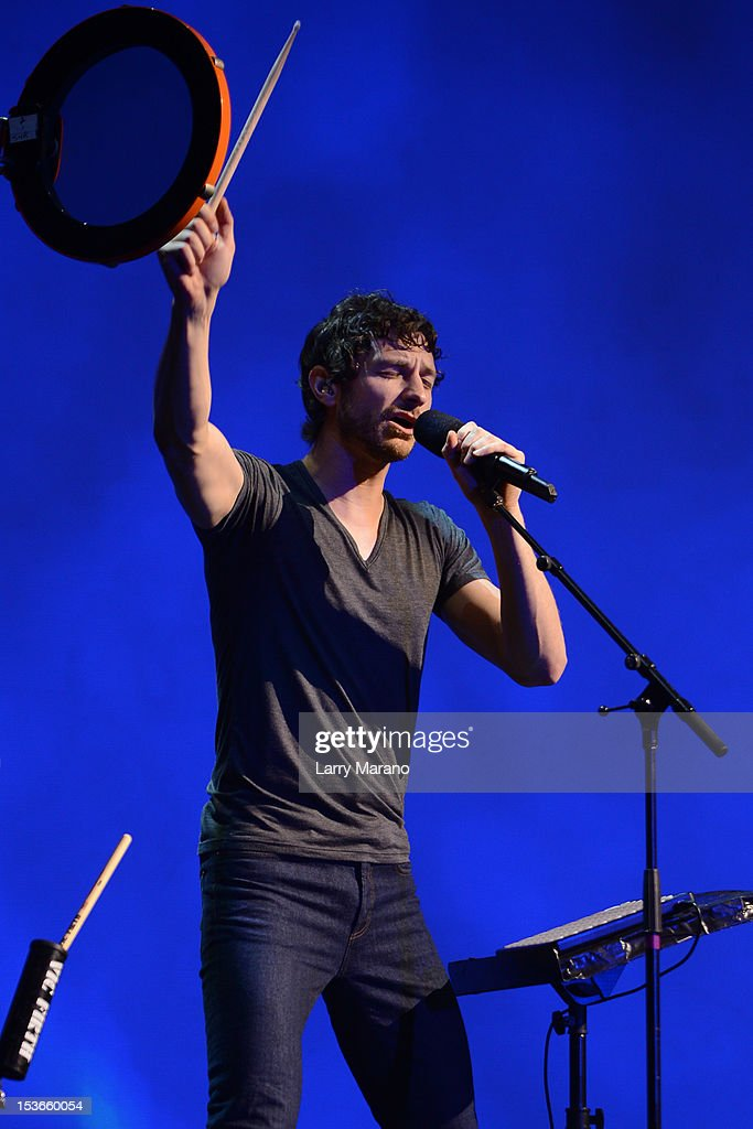 Gotye performs at Bayfront Park Amphitheater on October 7, 2012 in Miami, Florida.