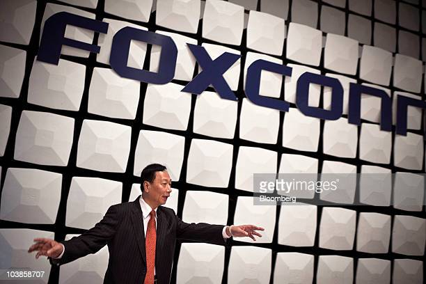 terry gou the founder of hon hai precision industry co foxconn President trump with terry gou, the chairman of the taiwanese electronics supplier foxconn, at the white house on wednesday, where the company announced plans for a new plant in wisconsin.