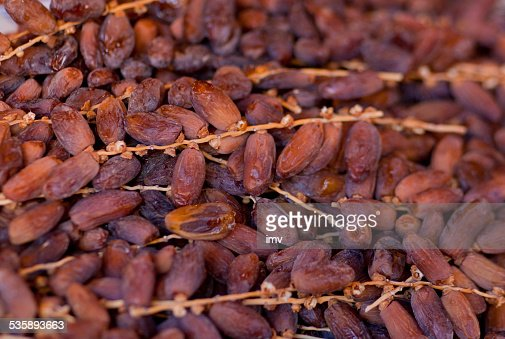 Gouda dates : Stock Photo