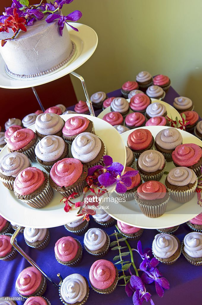 Gourmet Cupcakes : Stock Photo