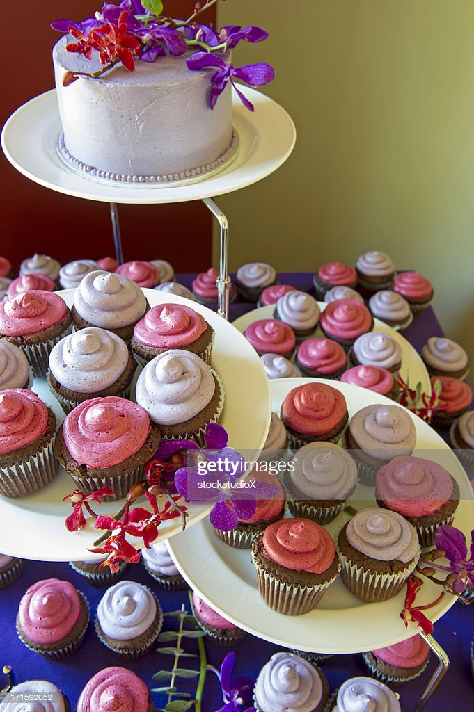 Gourmet Cupcakes : Stock Photo