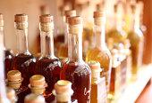 Gourmet Olive Oil and Vinegar Bottles